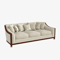 max grosvenor wood 3 seater