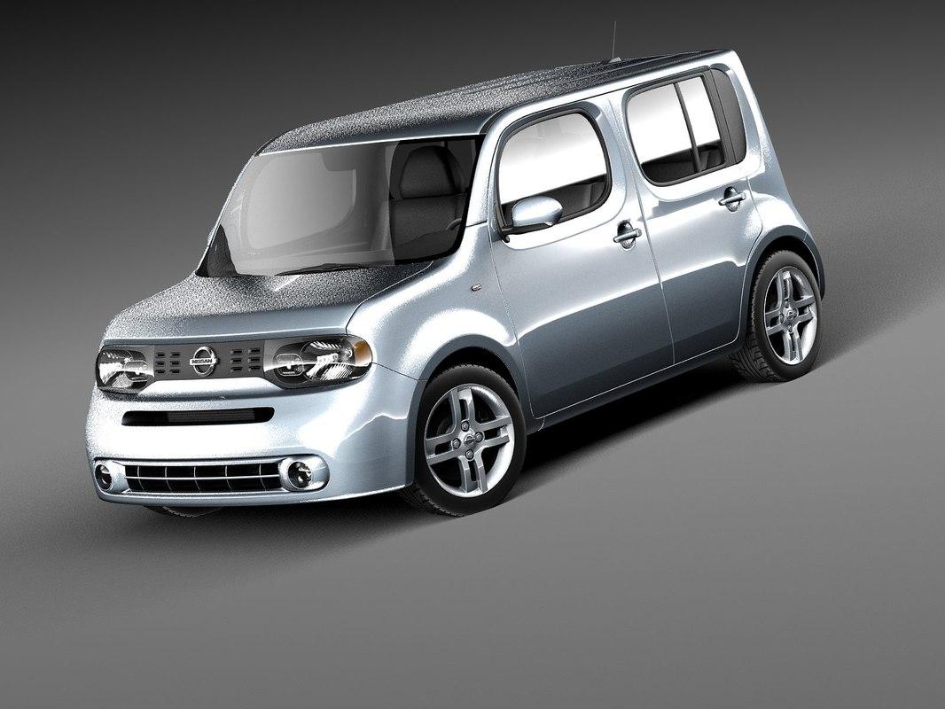 Nissan 2010 nissan cube : cube 2010 3d c4d
