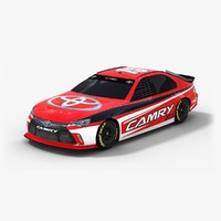 3ds max nascar toyota camry 2015