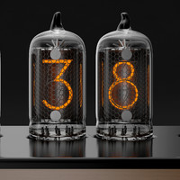 3d chronotronix nixie clock