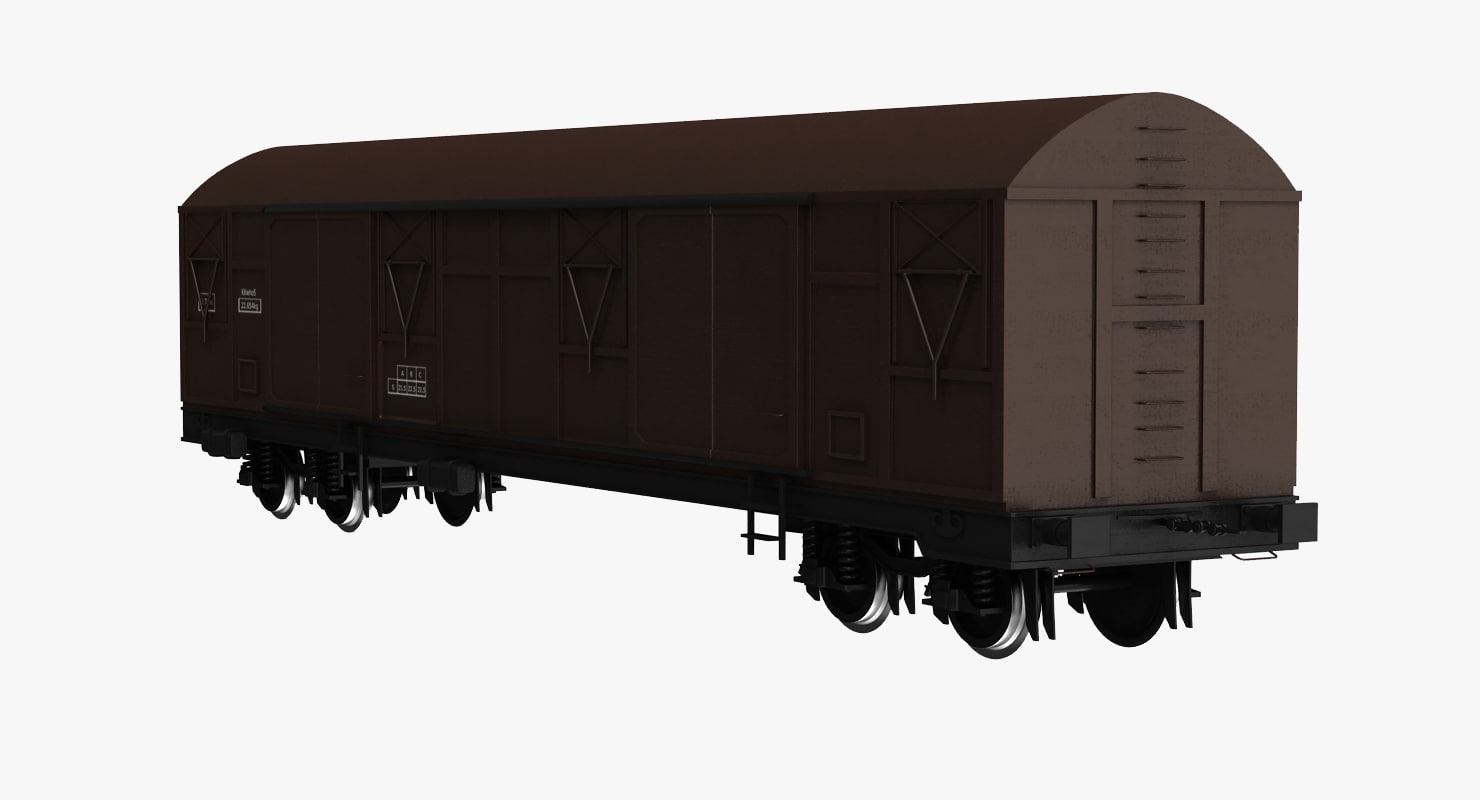 freight wagon 3d model
