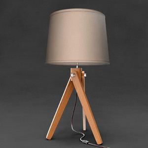 3d model chiaro table light
