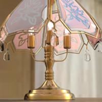 3dsmax vintage lamp