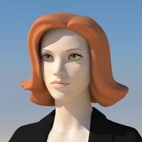 3d model girl face morphs