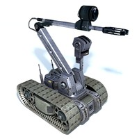 Remote control bomb disposal robot