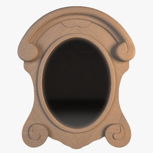 photorealistic salvaged mansard scroll max