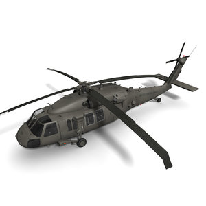 purchase uh-60m blackhawk helicopter 3d max