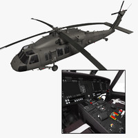 purchase uh-60m blackhawk helicopter 3d model