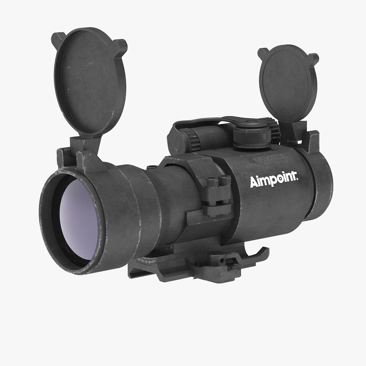 red dot sight aimpoint obj