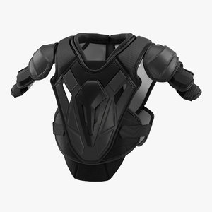 c4d hockey shoulder pads