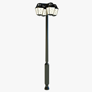 3d model of lamp