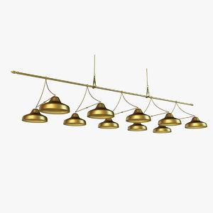 3d lamp billiards