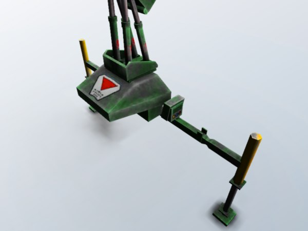 free machine hanger 3d model