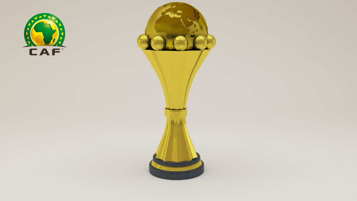 3d model africa cup nations