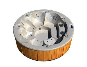 hot tub amc 2340 3d model