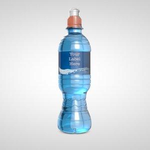 water bottle c4d