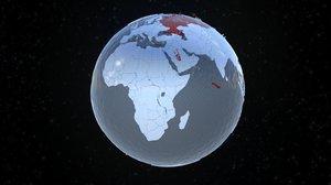 blend motion stylized earth
