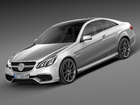 Mercedes-Benz E63 AMG Coupe 2016