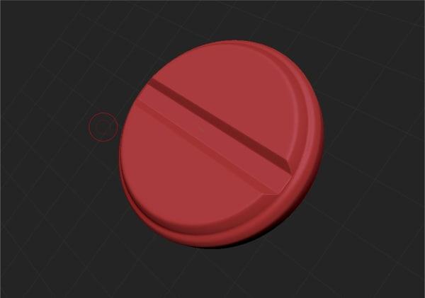 ztl pill zbrush insert brush