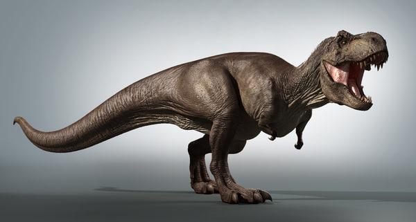 t-rex zbrush 3d obj