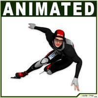 Speed Skater CG