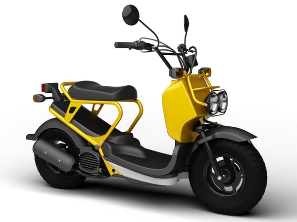 3d honda ruckus 2012 motorcycle model