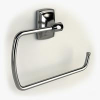 3d model towel ring