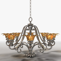 chandelier lighting 3d 3ds