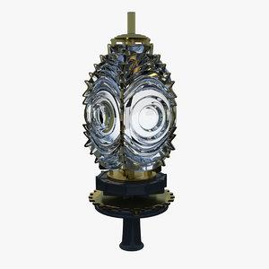 3d model fresnel lens lighthouses light
