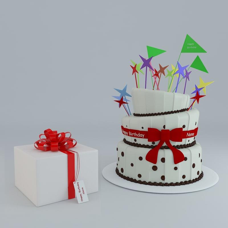 max birthday cake