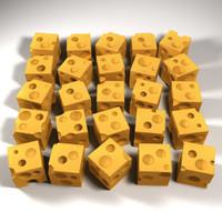 cheese printing stl 3d max