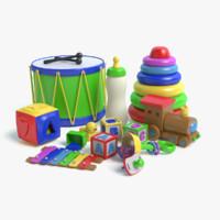3d model toys