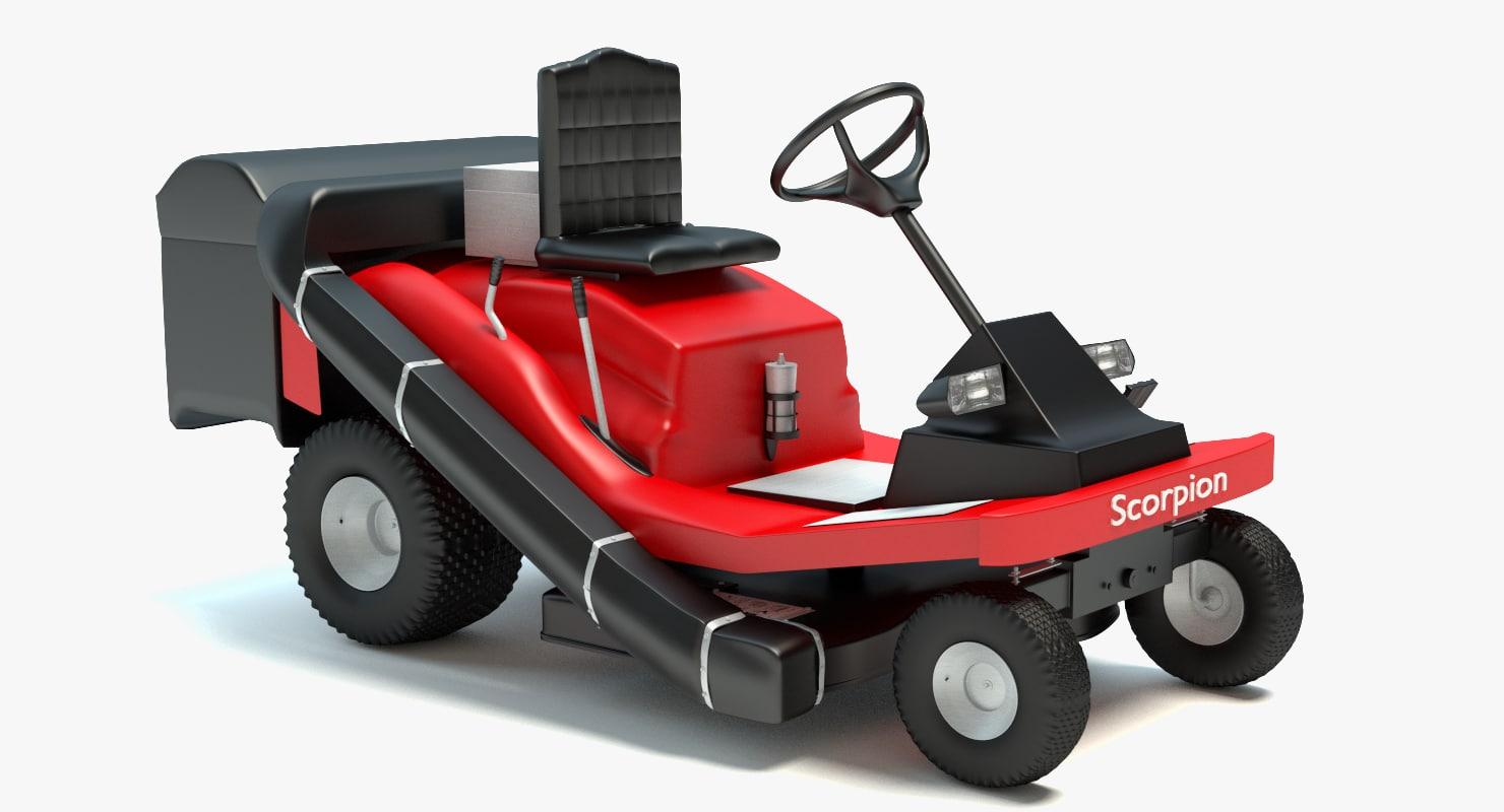 max riding lawn mower