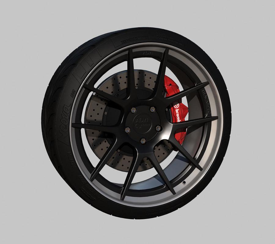 wheel adv 1 5 3d max