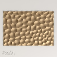 3D model of the panel Voronoi diagram | Pn_009
