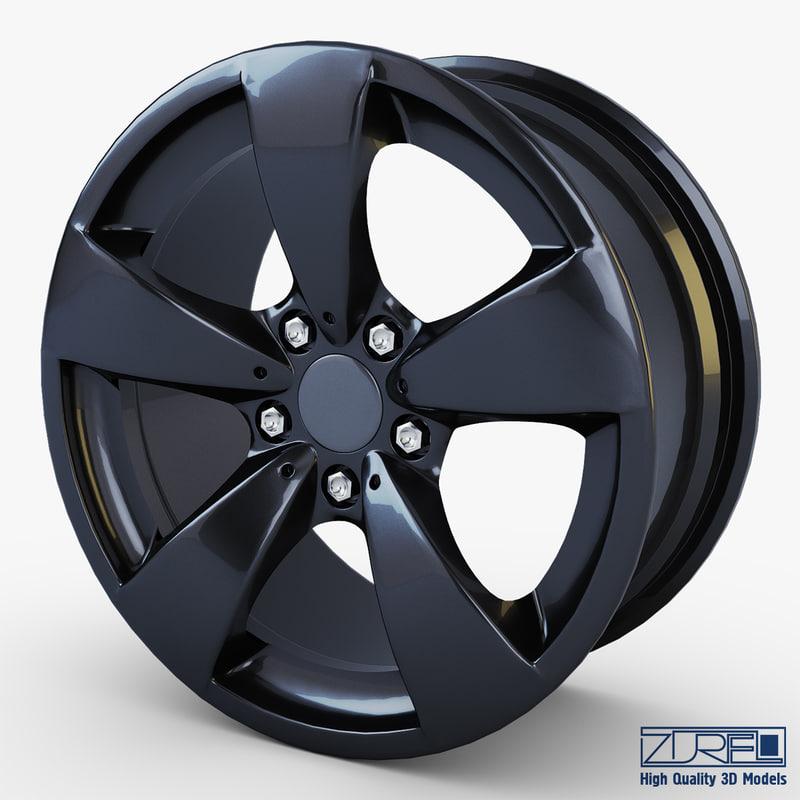 max style 138 wheel black