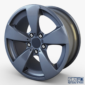 style 138 wheel ferric obj