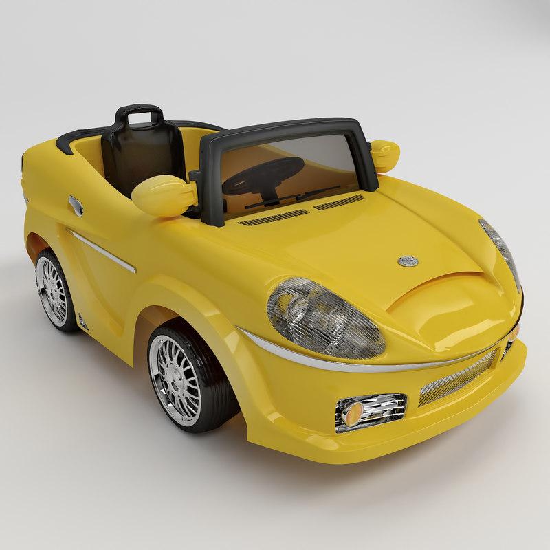 3dsmax toy car children