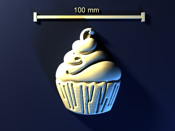 cake mold hand 3d max