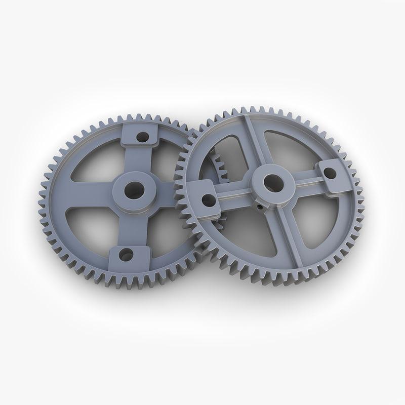 3ds max steampunk gear 35