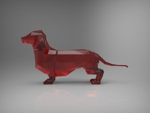 dog games 3d model
