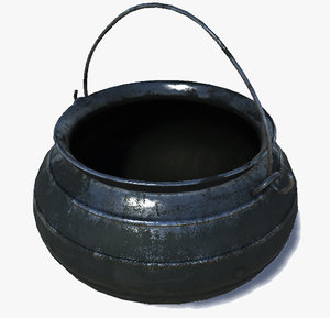 3d cauldron ancient
