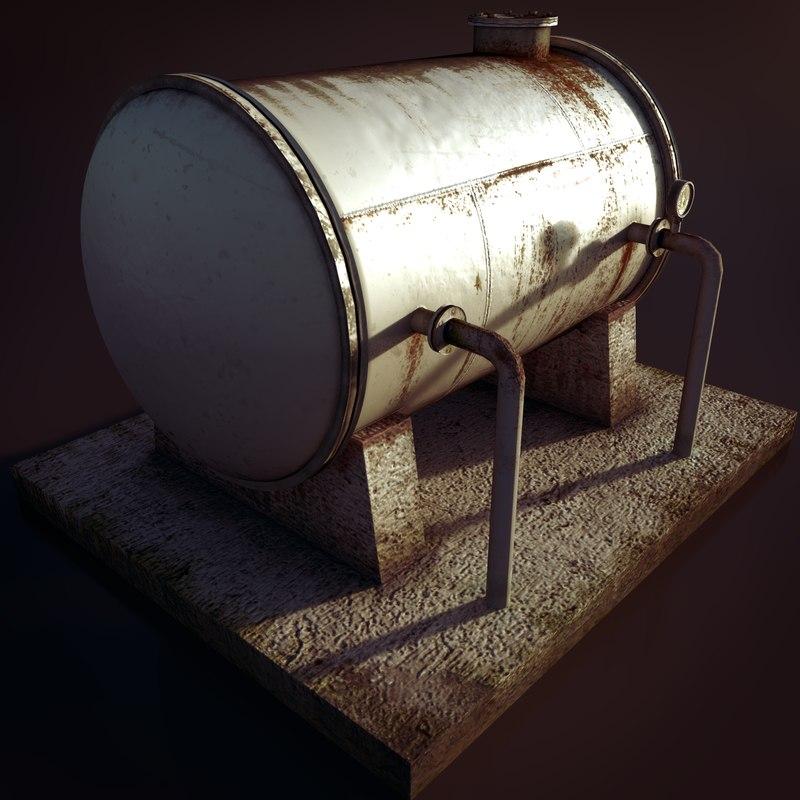 pressure tank games renders 3ds