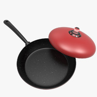 3ds max frying pan