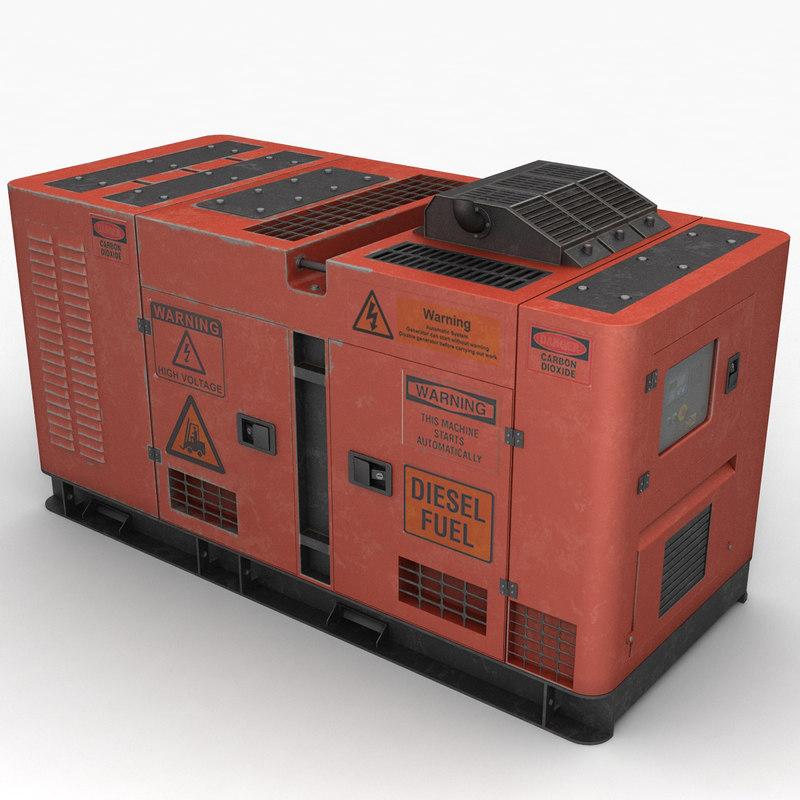 3d generator power