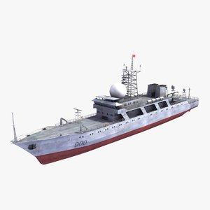 3d model type 814a spy ship