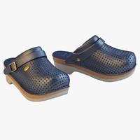 max scholl comfort clogs blue
