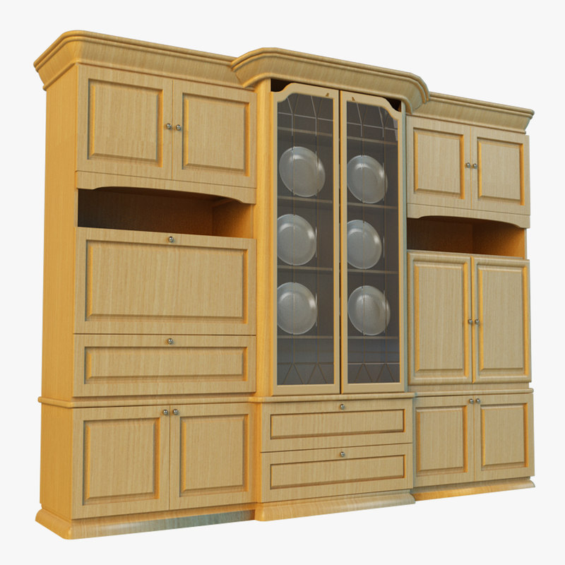 3d sideboard classic style