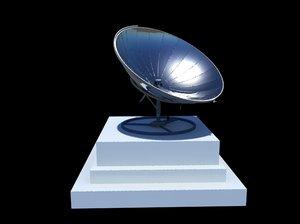 dish antena 3d ma