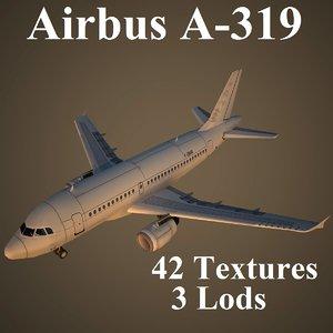 max airbus a-319 airways